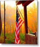 God Country Home Metal Print