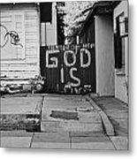 God Is Love Metal Print