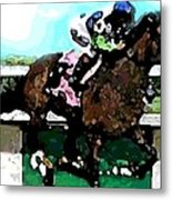 Going For The Win Metal Print