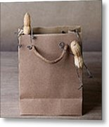 Going Shopping 02 Metal Print by Nailia Schwarz
