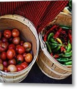 Going To Market Metal Print by Paulette Thomas
