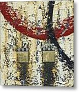 Gold And Silver 3 Metal Print