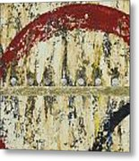 Gold And Silver 4 Metal Print