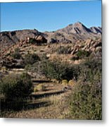 Gold Butte Tumbling Terrain  Metal Print