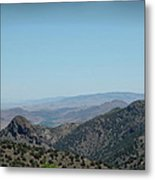 Gold In The Hills Virginia City Nv Metal Print
