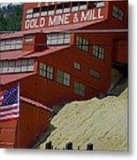 Gold In Them Thar Hills Metal Print