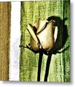 Gold Tulip Metal Print