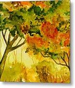 Golden Autumn Day Metal Print
