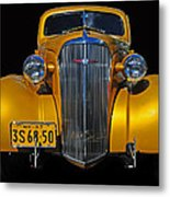 Golden Chevrolet Metal Print