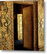 Golden Doorway 2 Metal Print