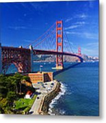 Golden Gate Bridge 1. Metal Print