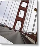 Golden Gate Bridge San Francisco California Usa Metal Print
