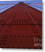Golden Gate Bridge Vertical Metal Print