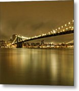 Golden Night Metal Print