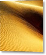 Golden Sands Of Libya Metal Print