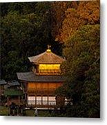 Golden Temple Metal Print