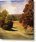Golf Course Iv Metal Print