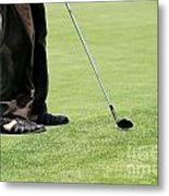 Golf Feet Metal Print