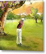 Golf In Spain Castello Masters  04 Metal Print