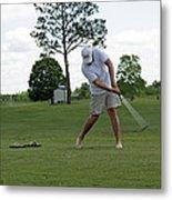 Golf Swing Metal Print