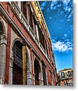 Gondola View Metal Print