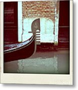 Gondola.venice.italy Metal Print