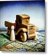 Gone Truckin Metal Print