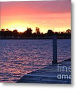 Good Morning From Marysville Michigan Usa Metal Print