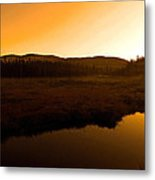 Good Morning Laurentians ...   Metal Print