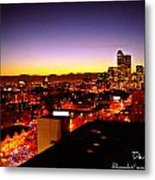 Good Night Mile High Metal Print