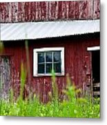 Good Ole Red Barn Metal Print
