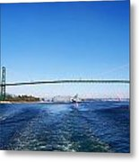 Goodby Vancouver Metal Print