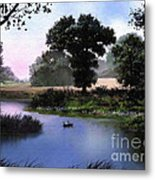 Goose Pond Metal Print by Robert Foster