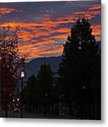 Gorgeous Sunrise On G Street Metal Print