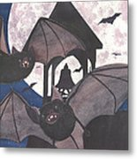 Got Bats Metal Print
