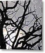 Goth Tree Metal Print