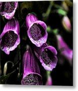 Gothic Bell Flower Metal Print