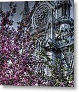 Gothic Paris Metal Print