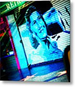 Grab A Star On Sunset Boulevard In Hollywood Metal Print
