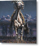 Grab The Fast Horse Metal Print