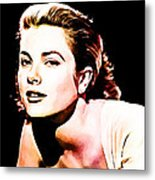 Grace Kelly Metal Print by The DigArtisT