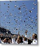 Graduates Of The U.s. Naval Academy Metal Print