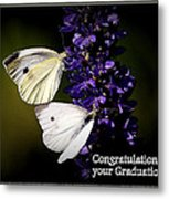 Graduation Congratulations Metal Print