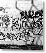 Graffiti Wall Metal Print