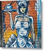 Grafitti Wall Metal Print