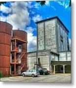 Grain Tower Apartments Metal Print