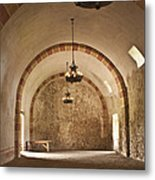 Granary Lights Metal Print