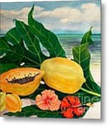 Grand Anse Still Life Metal Print