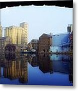 Grand Canal, Dublin, Co Dublin, Ireland Metal Print