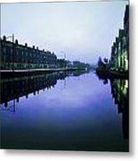 Grand Canal, Portobello, Dublin, Co Metal Print